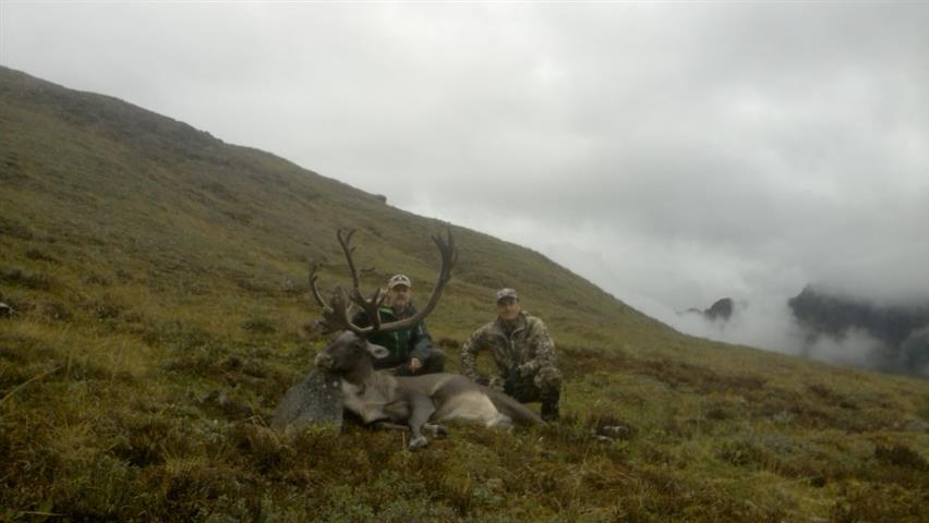 Caribou success with Revelation Mountain Outfitters